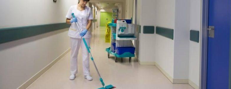 limpieza de hospitales